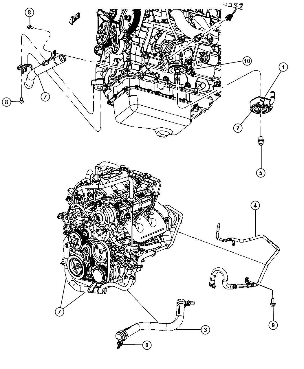 Engine Diagram On A 2010 Chrysler town and Country 3.8lt Ah Dodge Used for Hose and Tube Heater Return Controlengine Of Engine Diagram On A 2010 Chrysler town and Country 3.8lt