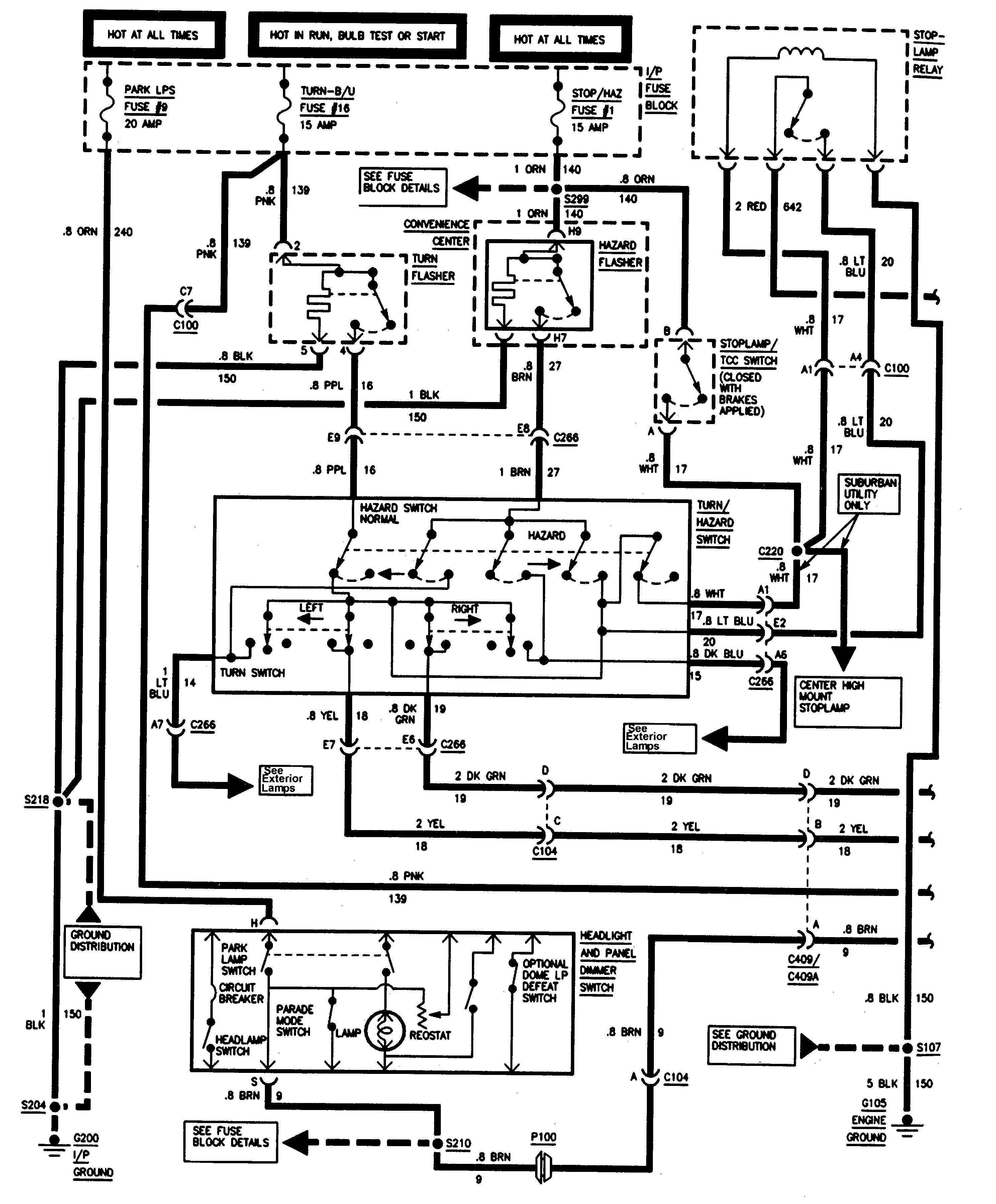 Factory Installed Wiring Schematic for A 2004 Gmc Trailer Diagram] 7 Wire Trailer Wiring Diagram Gmc Full Version Hd