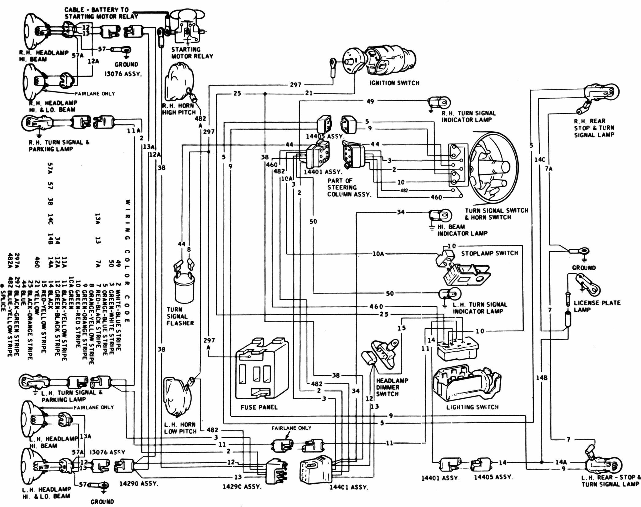 Ford 460 Engine Wiring Diagram Diagram] 1964 Fairlane Wiring Diagram Full Version Hd Of Ford 460 Engine Wiring Diagram