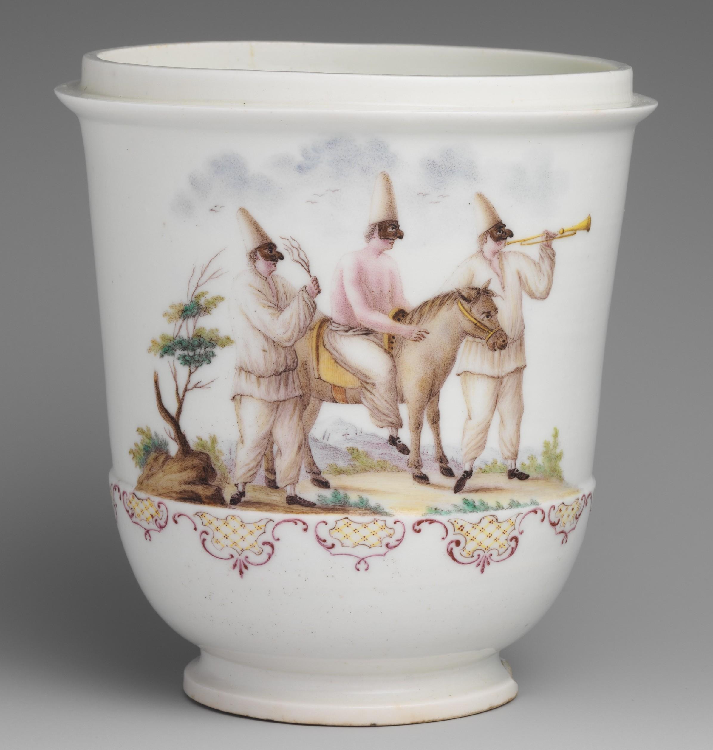 Google Craftsman 17.5 Carbra Capodimonte Porcelain Of Google Craftsman 17.5 Carbra
