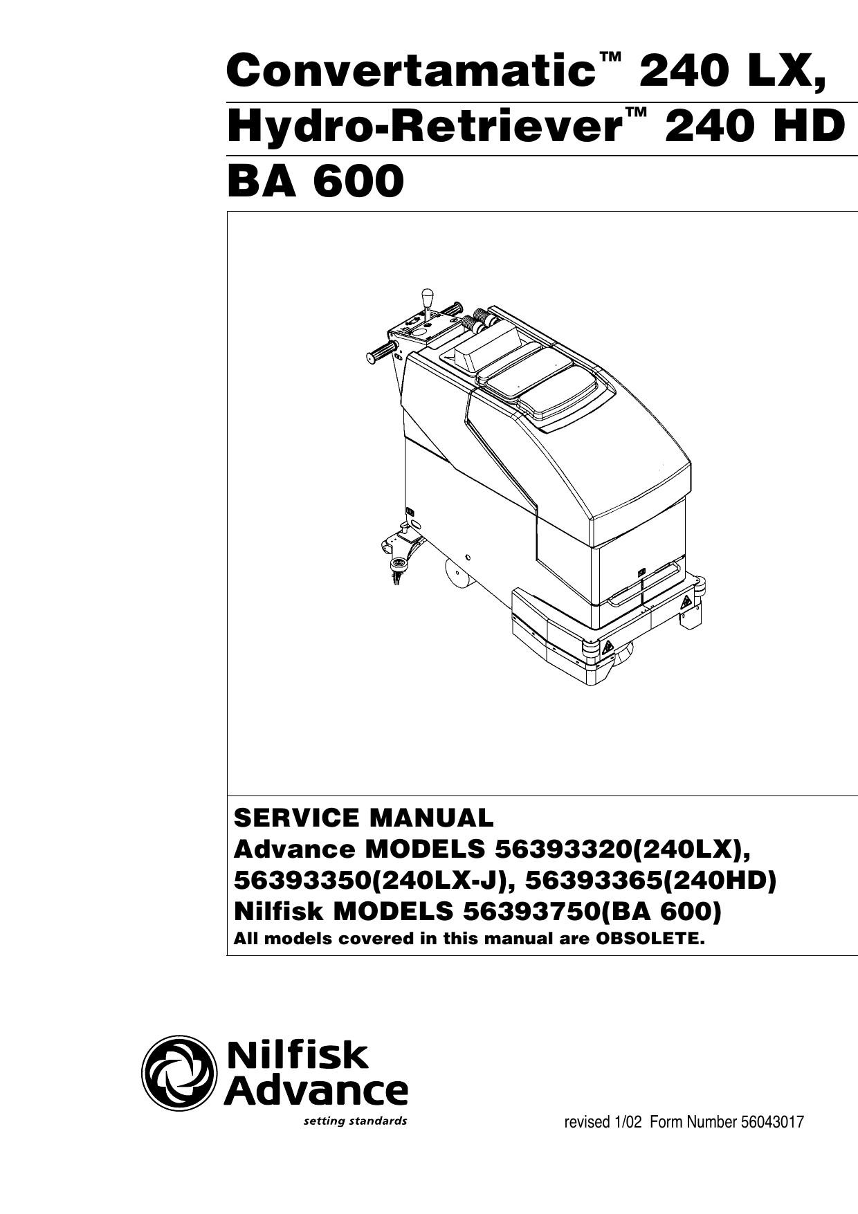 Hydro Vac Schematic Convertamatic™ 240 Lx Hydro Of Hydro Vac Schematic