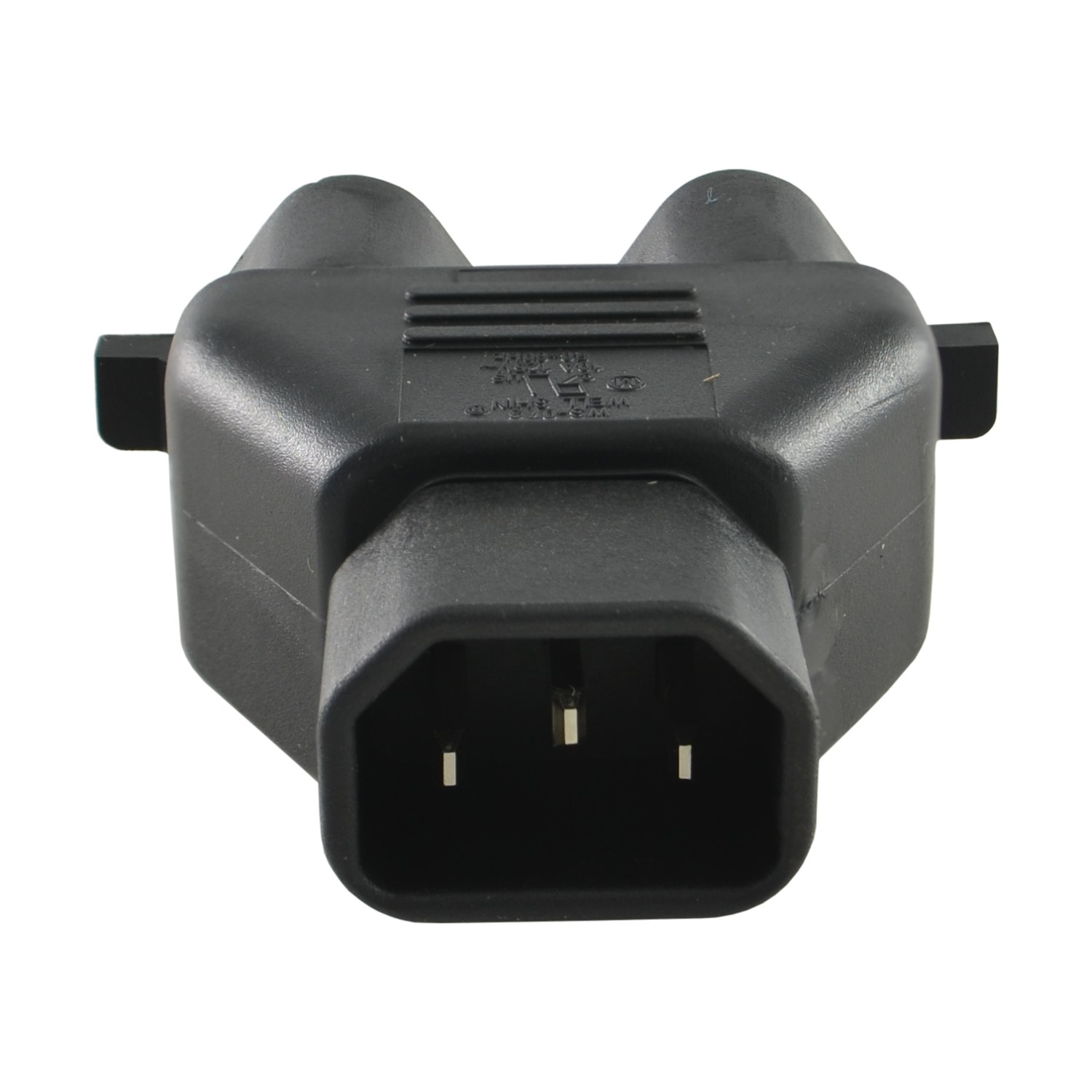 Iec C14 Inlet Pinout C14 to 2 5 15r Power Tap Of Iec C14 Inlet Pinout