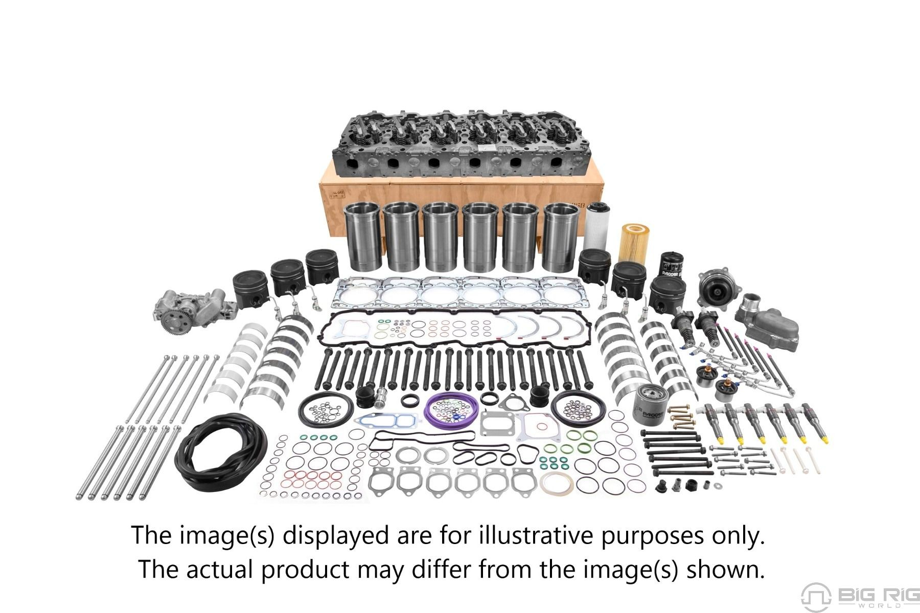 Paccar Mx13 Ecu Wiring Paccar Mx 13 Epa13 Engine Overhaul Kit My13 15a Level 2 Of Paccar Mx13 Ecu Wiring