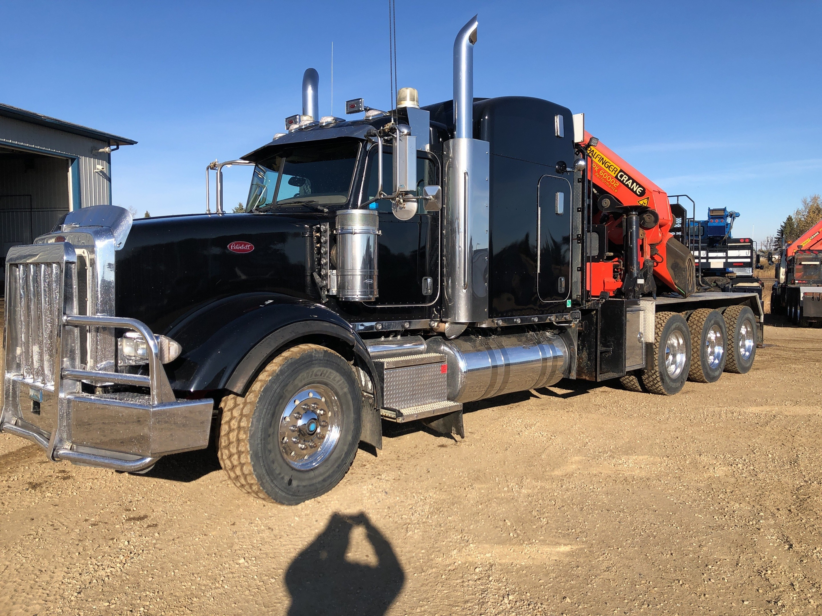Peterbilt 2012 Air Brake System 2012 Peterbilt 379 Tri Drive W Palfinger Pk Knuckle Boom Of Peterbilt 2012 Air Brake System
