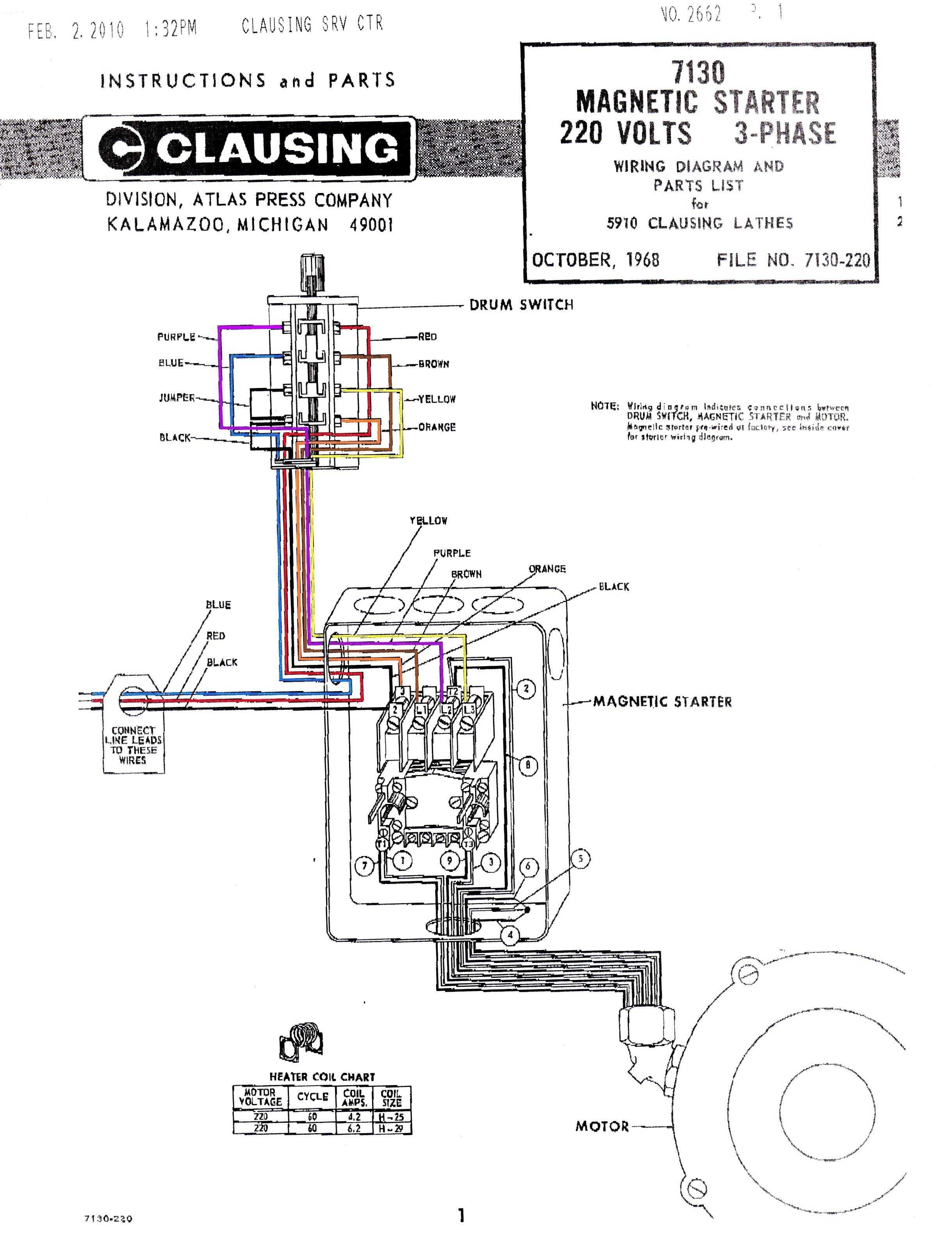 Points Wire Routing On K301 Engine Diagram] Ge Motor Starter Wiring Diagrams Full Version Hd Of Points Wire Routing On K301 Engine