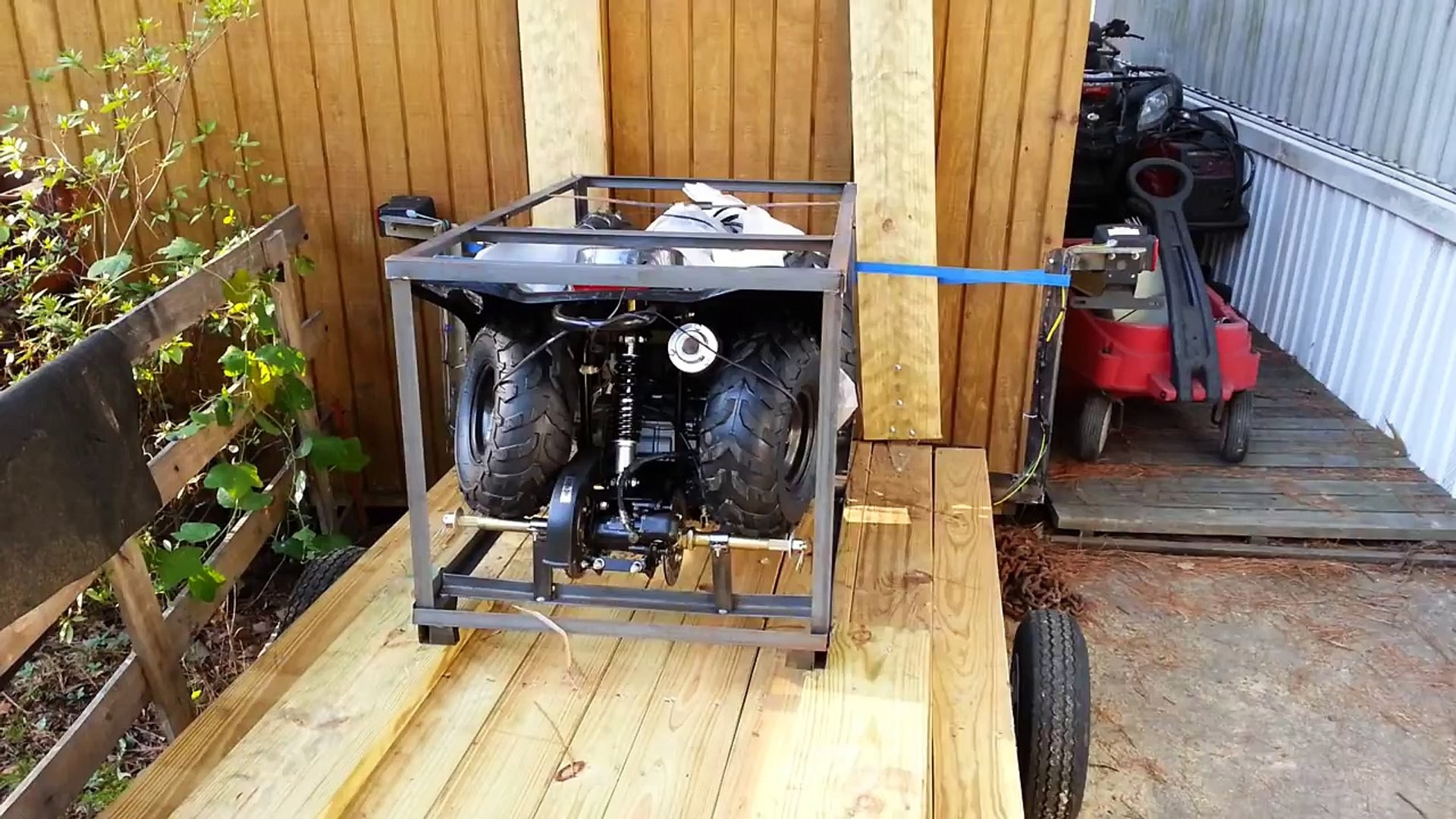 Un-boxing 110cc Chinese atv How to assemble A 110cc 4 Wheeler or Quad Video Dailymotion Of Un-boxing 110cc Chinese atv