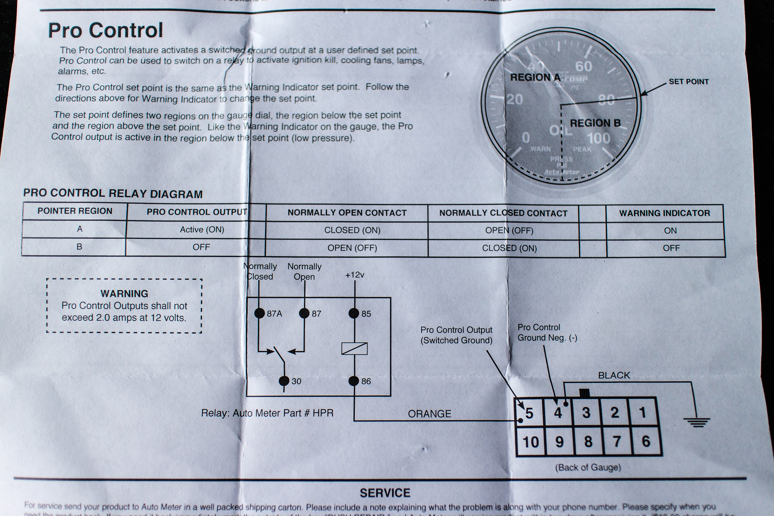 Vdo Gauge Wiring Diagram] Diagram Autometer Water Temp Gauge Wiring Diagram Of Vdo Gauge Wiring