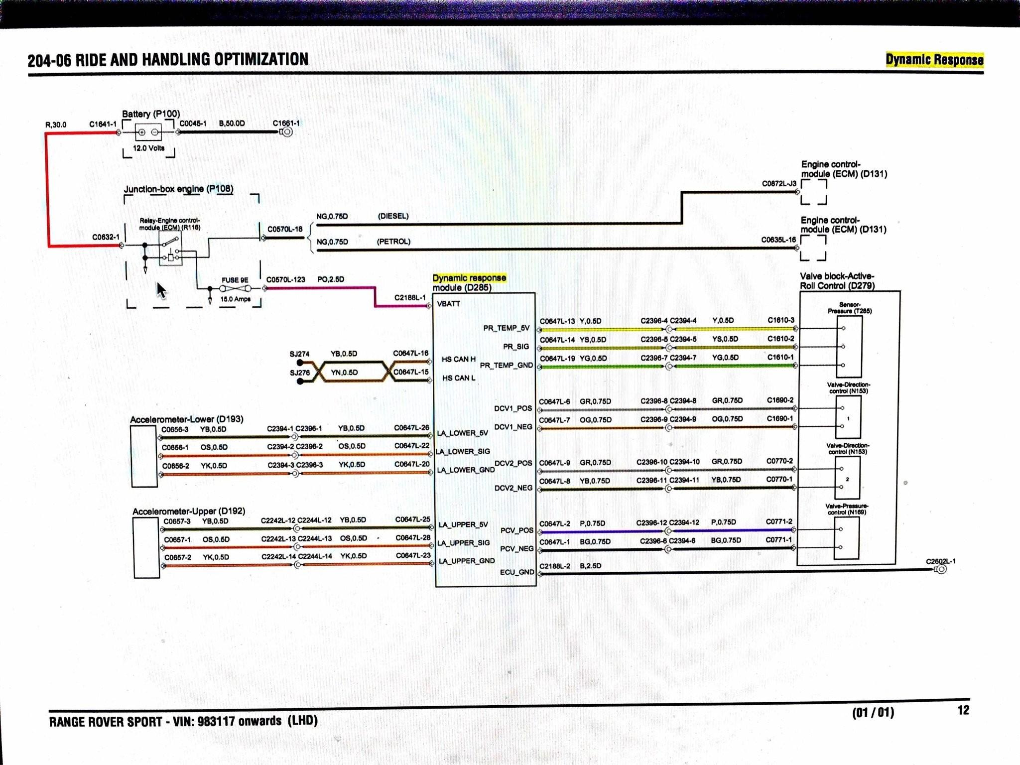 Vipper 4 Wire Diagram Diagram] 2015 Range Rover Sport Wiring Diagram Schematic Of Vipper 4 Wire Diagram