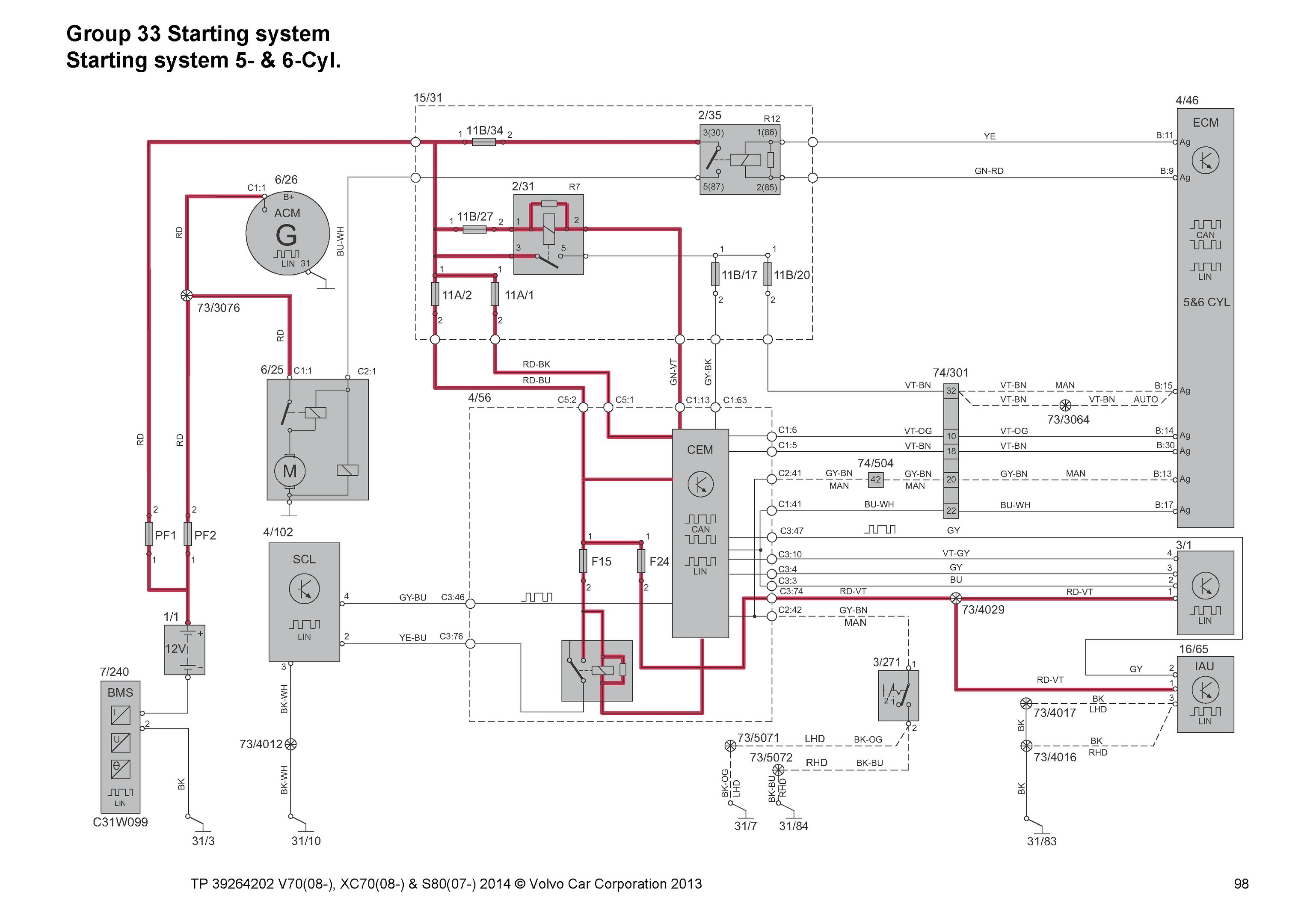 Volvo S80 2000 Wiring Diagram Diagram] Volvo S80 Wiring Diagram 2008 Full Version Hd Of Volvo S80 2000 Wiring Diagram