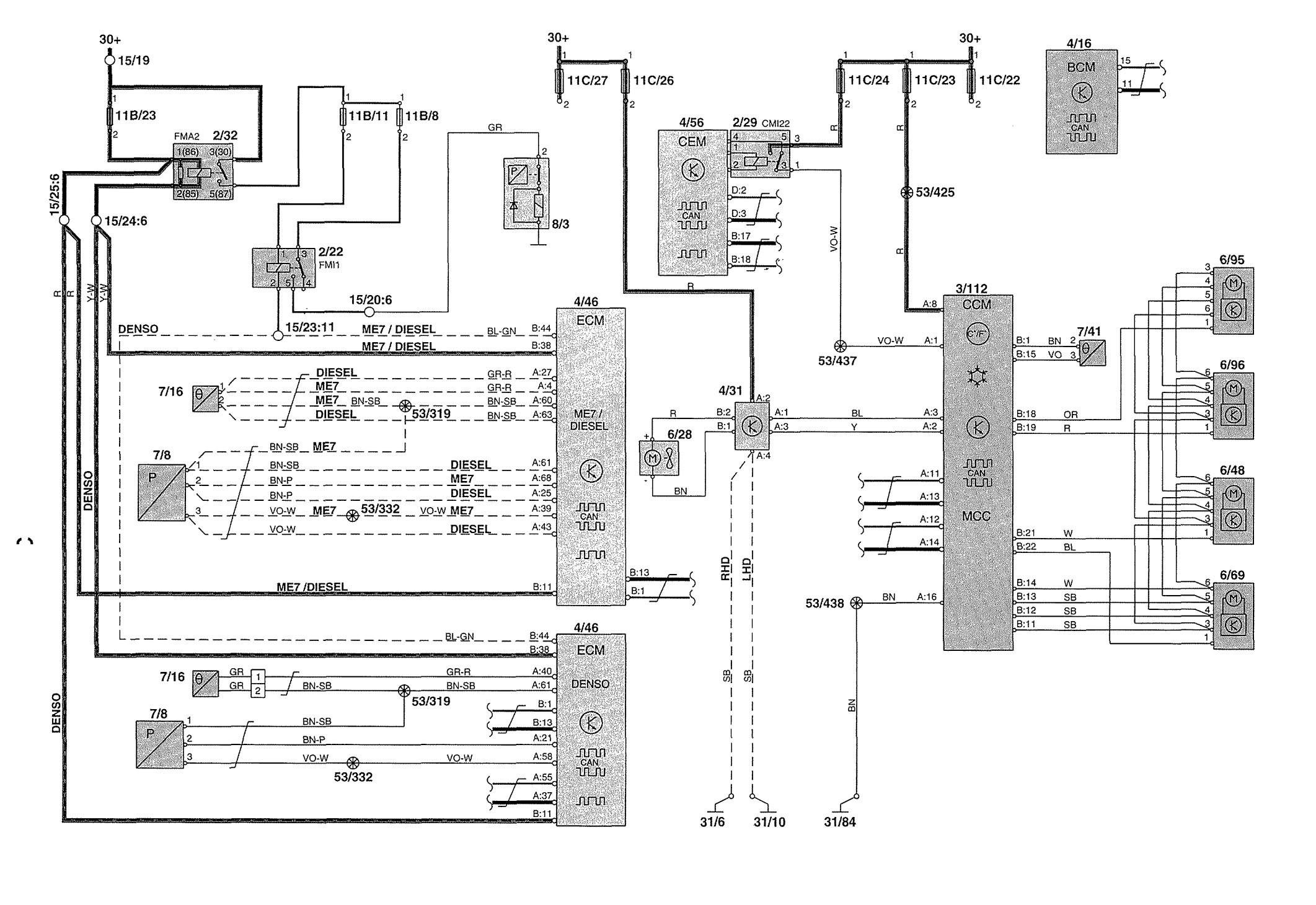 Volvo S80 2000 Wiring Diagram Diagram] Volvo Wiring Diagram Xc70 Full Version Hd Quality Of Volvo S80 2000 Wiring Diagram