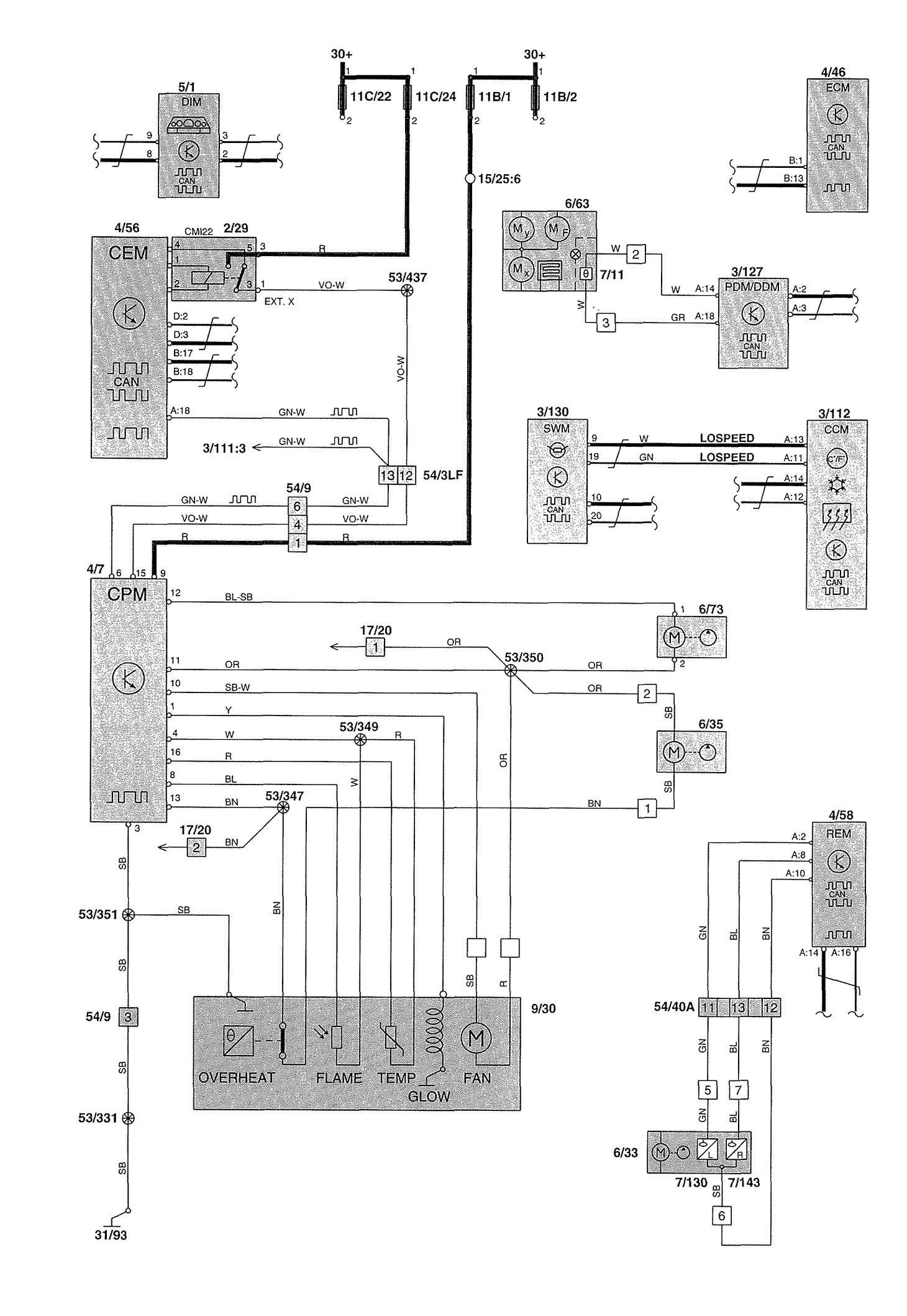 Volvo S80 2000 Wiring Diagram Wiring Volvo S60 Window Wiring Diagram Full Quality Of Volvo S80 2000 Wiring Diagram