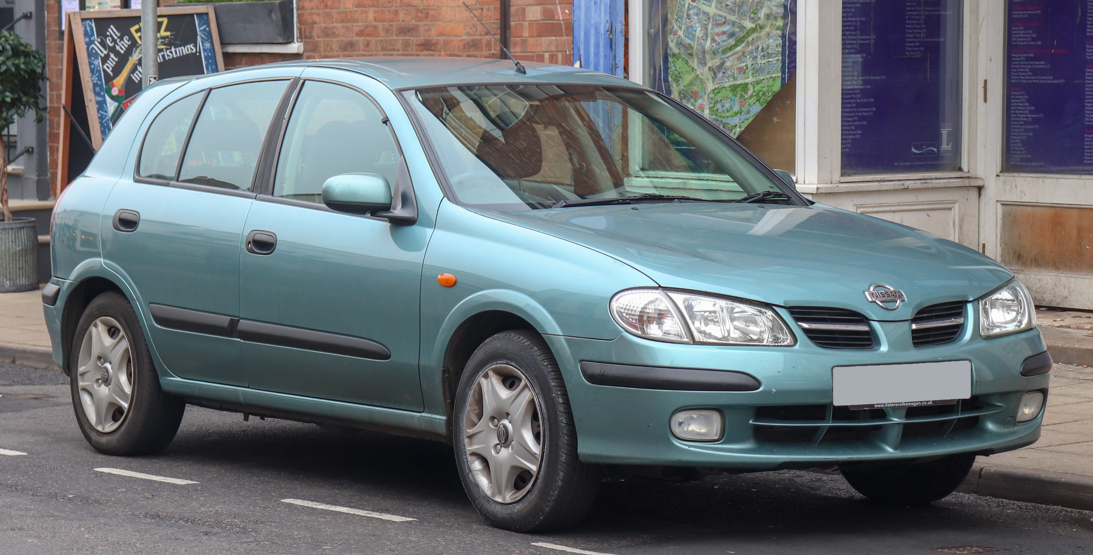 Where is the Engine Number Located In the Nissan Almera File 2003 Nissan Almera E 1 5 Front Wikimedia Mons