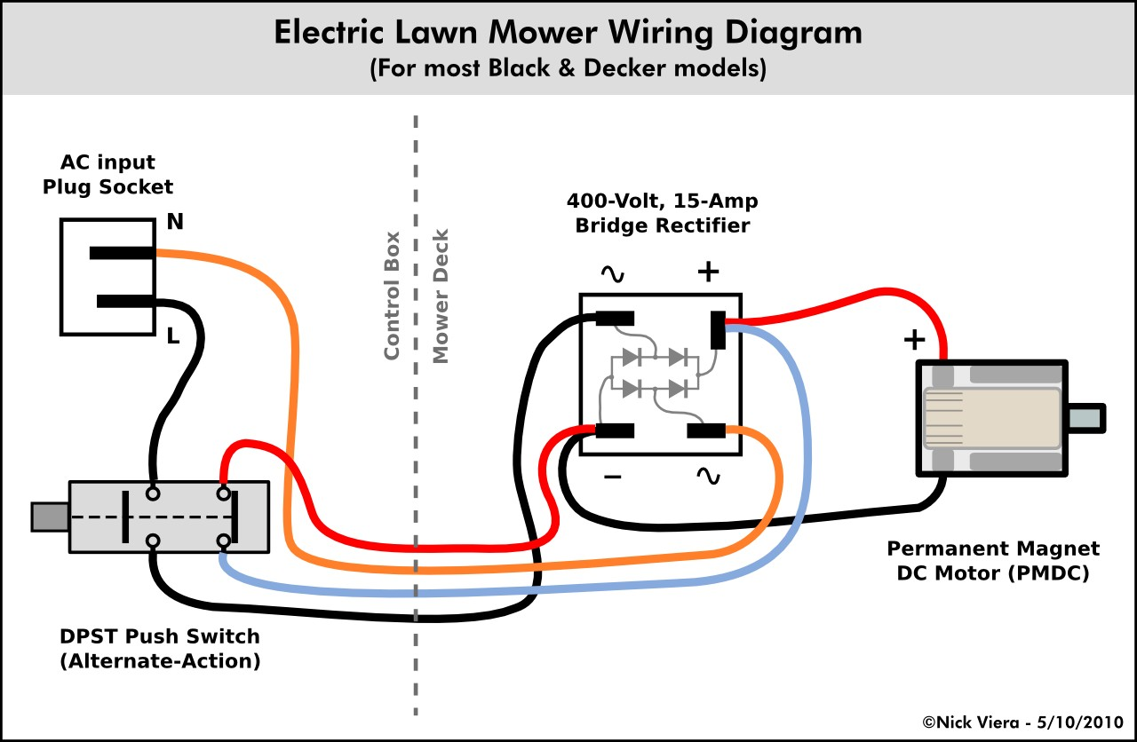 Wiring Diagram for Lze730gka604a3 Lawnmower Nick Viera Electric Lawn Mower Wiring Information Of Wiring Diagram for Lze730gka604a3 Lawnmower