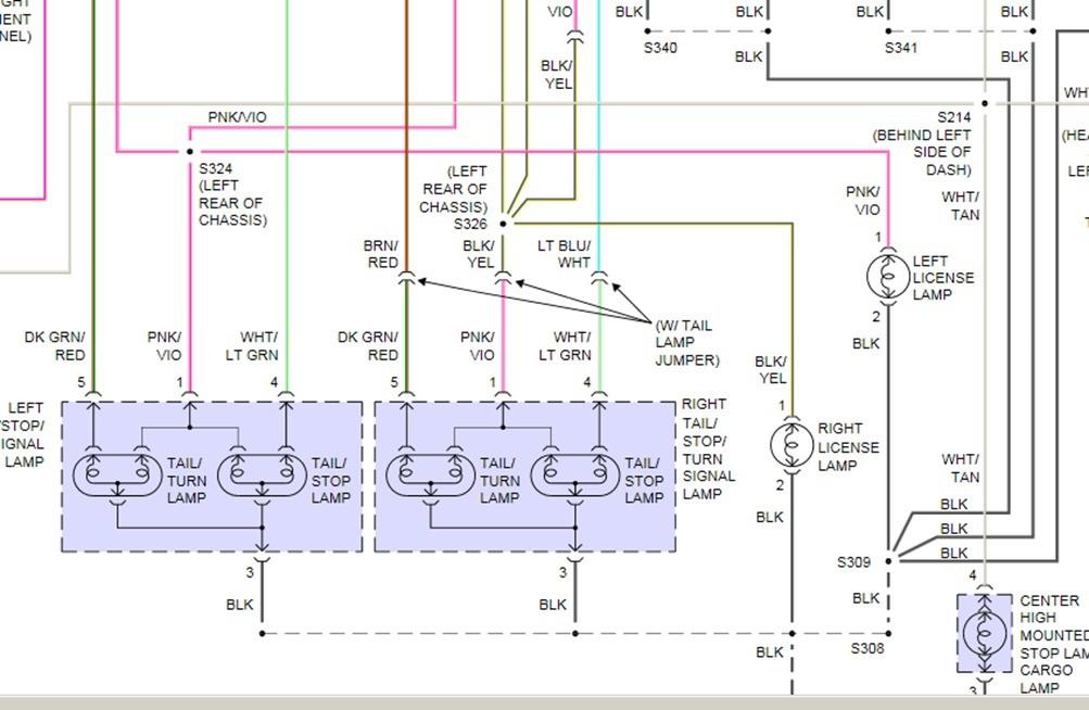 1999 Dodge 3500 Tail Light Wire Diagram 1999 Dodge Dakota Tail Light Wiring Diagram Wiring Diagram Of 1999 Dodge 3500 Tail Light Wire Diagram