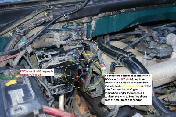 2000 ford F150 Engine 4.2 V 6 Engine Hoses Diagram 2000 F150 4 2l Pcv Valve Help Can T Find It ford F150 forum Munity Of ford Truck Fans Of 2000 ford F150 Engine 4.2 V 6 Engine Hoses Diagram
