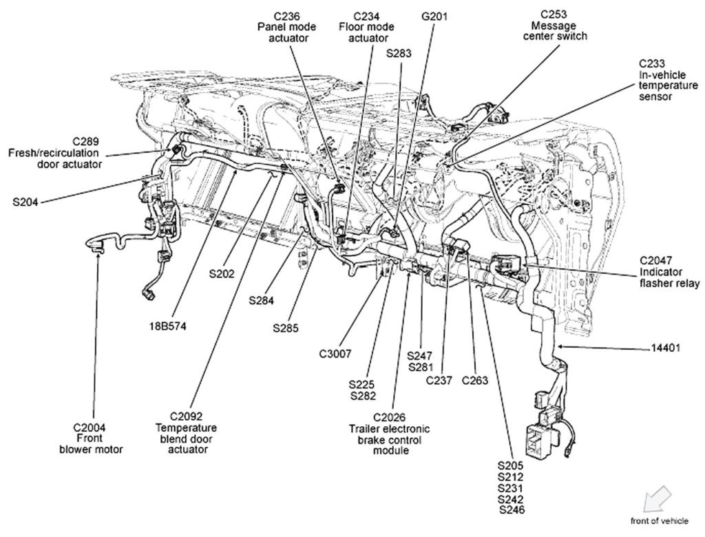 2007 ford F150 4.2 Engine Wiring Diagram Circuit Electric for Guide 2007 F150 Wiring Harness Of 2007 ford F150 4.2 Engine Wiring Diagram