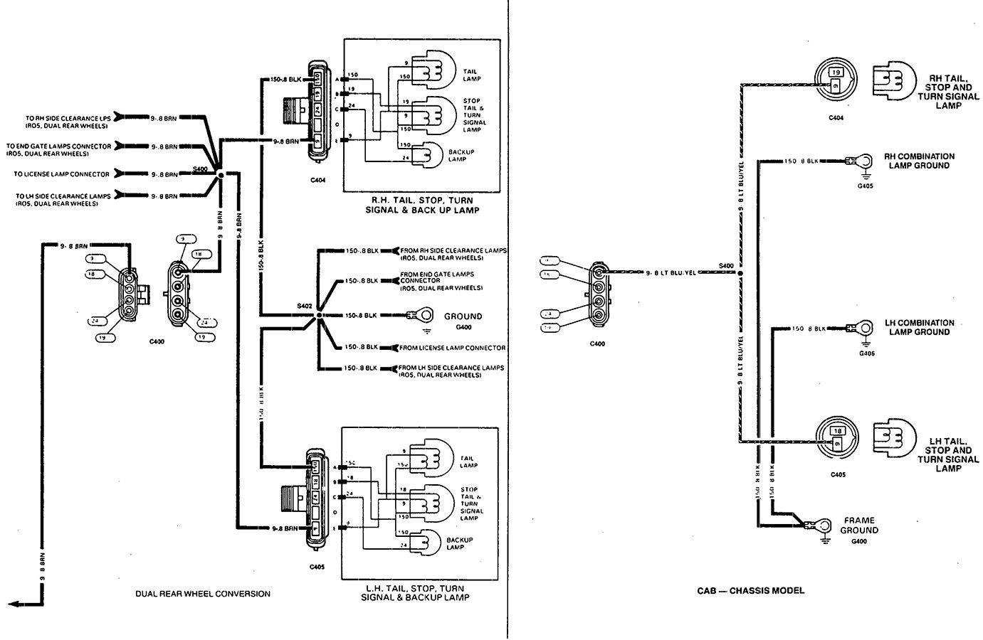 2011 Chevy Silverado 4 Door Brake Light Wiring Diagram 2003 Trailblazer Tail Light Circuit Diagram Awesome In 2020