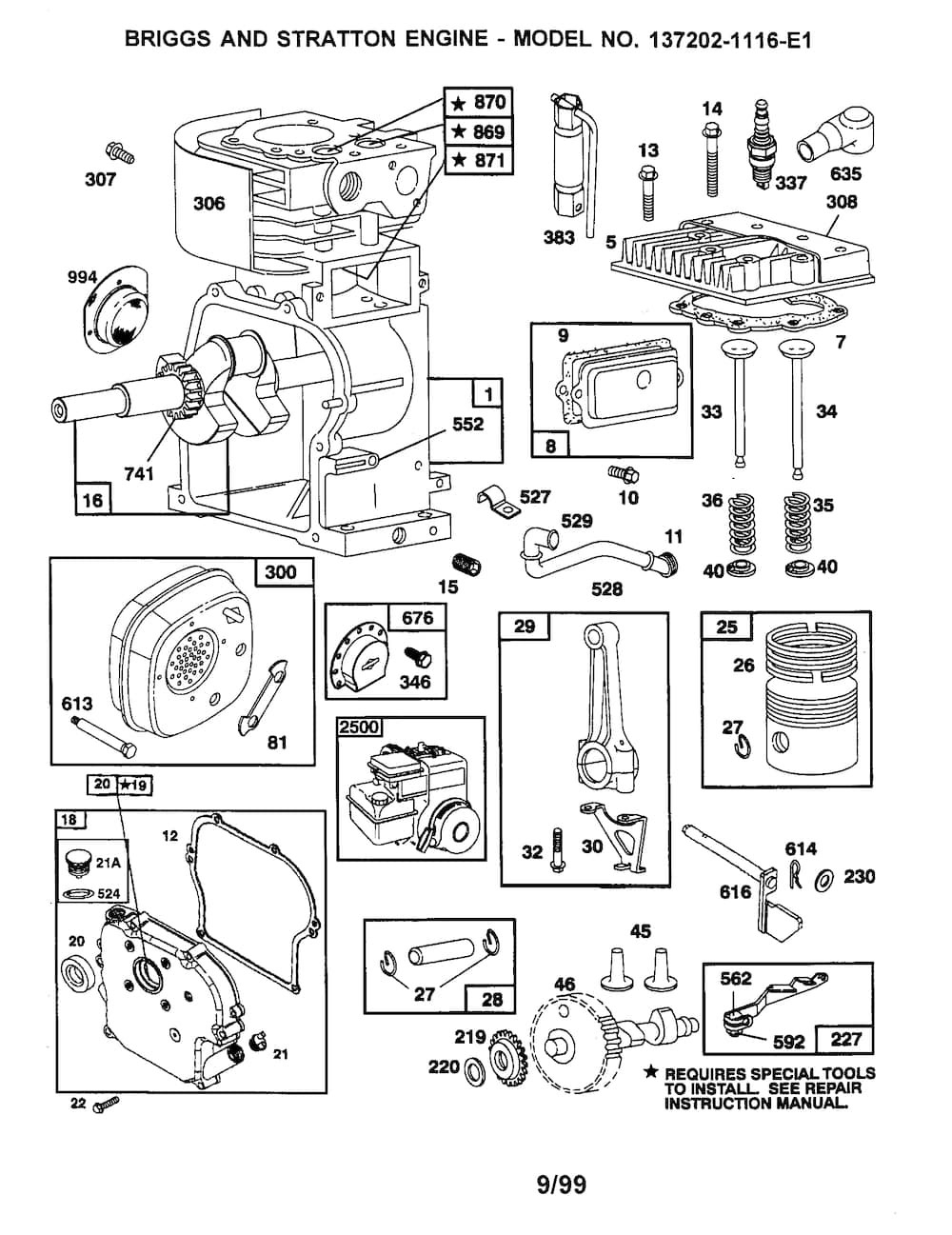 Briggs & Stratton Engine Parts and Diagrams Briggs and Stratton Engine Parts Diagram Of Briggs & Stratton Engine Parts and Diagrams