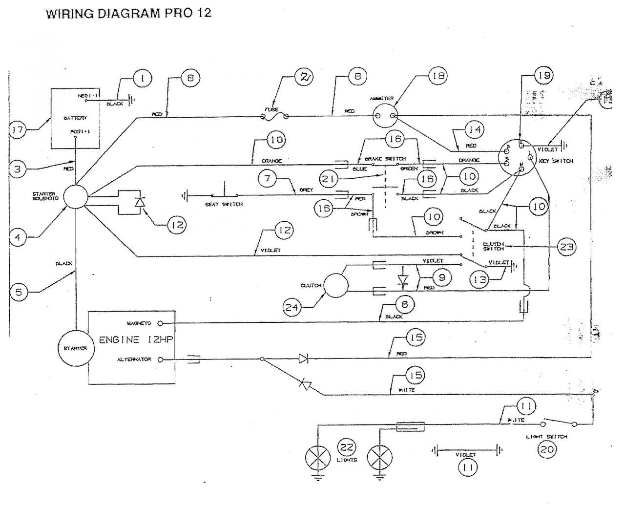 Briggs and Stratton Wiring Diagram 12 Hp Briggs & Stratton 12hp I C for Victor Pro 12 Ride Outdoorking Repair forum Of Briggs and Stratton Wiring Diagram 12 Hp
