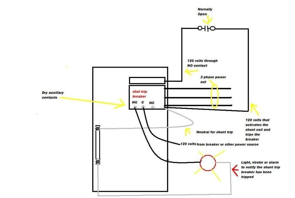 Cutler Hammer A831443-7 Unit Wiring Diagram Cutler Hammer Shunt Trip Breaker Wiring Diagram General Wiring Diagram Of Cutler Hammer A831443-7 Unit Wiring Diagram