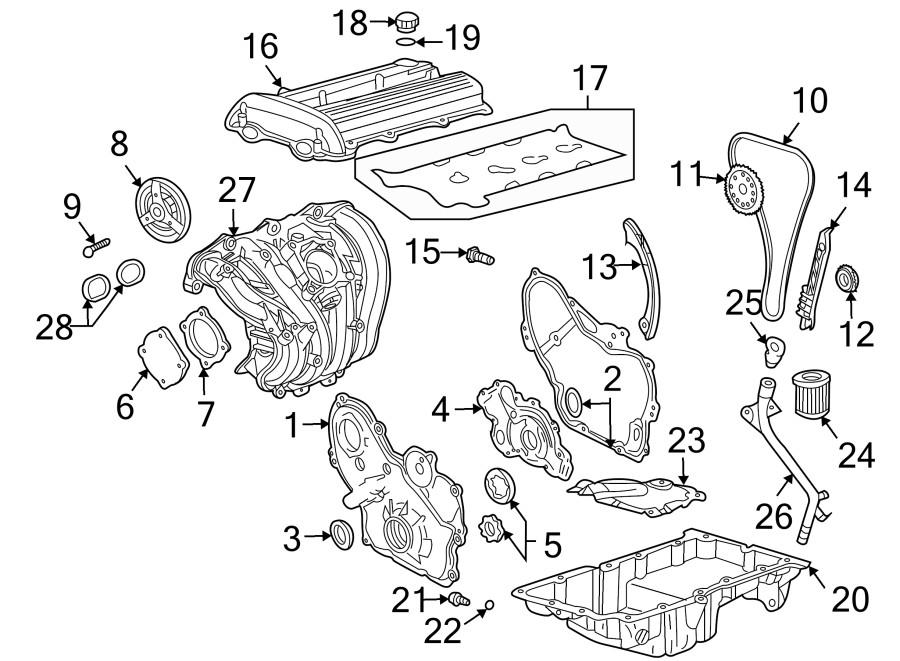 Ecotec 2.4 Engine Parts Diagram 2010 Chevrolet Malibu Lt 2 4l Ecotec Flex Engine Timing Chain Of Ecotec 2.4 Engine Parts Diagram