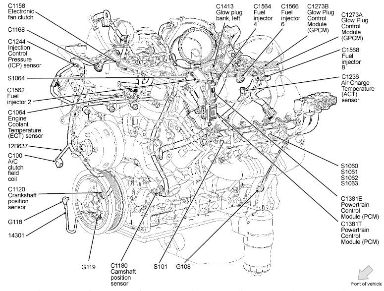 Engine Diagram 2004 ford F150 5.4l 2004 ford F150 Engine Diagram