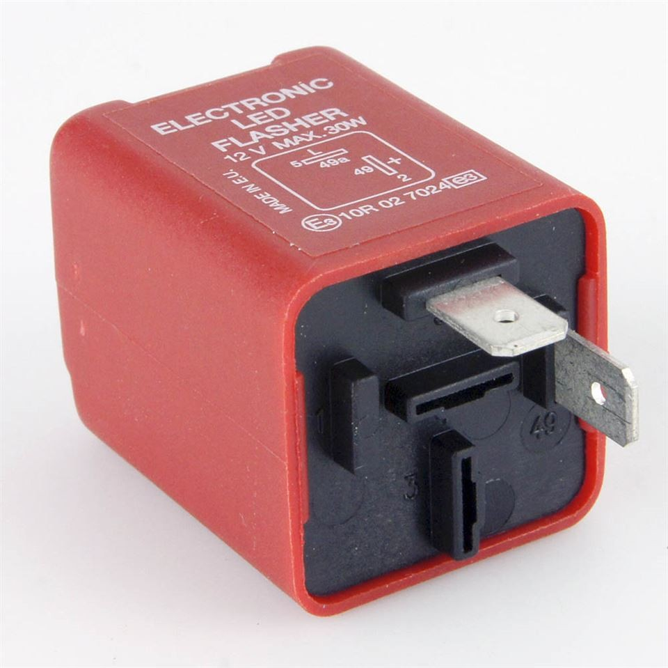 Flaser Relay Red 2 Pin Led Flasher Relay 30 Watt Max Car Builder solutions Of Flaser Relay Chsky 1 Piece 3 Pin Flasher Relay for 12v 24v European and American Car Flasher Relay to Fix Led