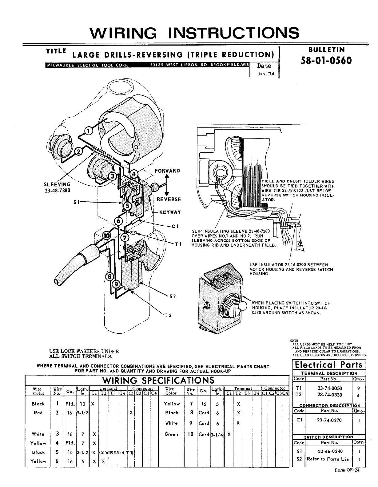 Fletcher Drills Wire Schematics Wiring Diagram for Milwaukee Drill Wiring Diagram