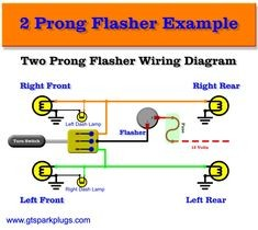 How to Wire A 2 Pin Flasher to 6 Volt Light Motorcycle Turn Signal Wiring Diagram Tamahuproject org at Universal for Of How to Wire A 2 Pin Flasher to 6 Volt Light