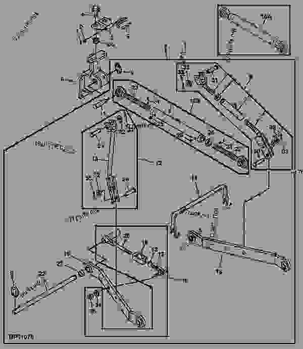 John Deere 2305 3 Point Hitch Diagram Three Point Hitch Tractor Pact Utility John Deere 2305 Tractor Pact Utility 2305