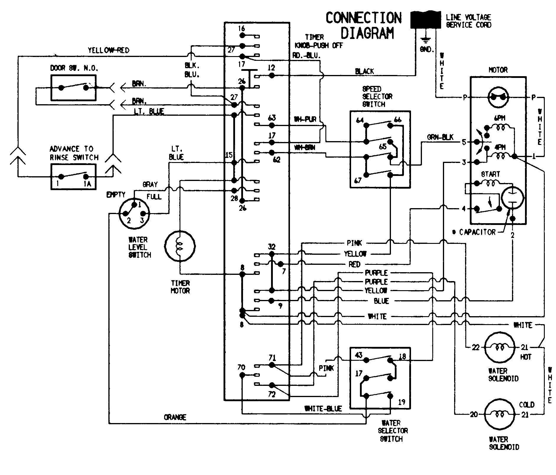 Model #79641003610 Kenmore Elite Washer Wiring Diagram Kenmore Washer Wiring Diagram