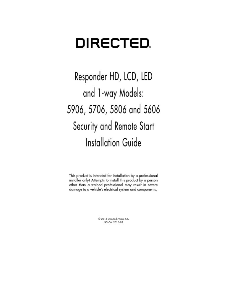 Viper 5706v Install Manual Dei Viper 5706v Installation Manual Of Viper 5706v Install Manual
