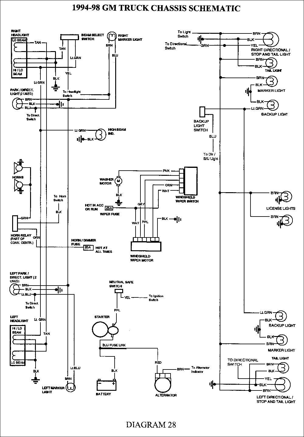 02 Tracker Wiring Diagrams 2002 Chevy Silverado Trailer Wiring Diagram Of 02 Tracker Wiring Diagrams