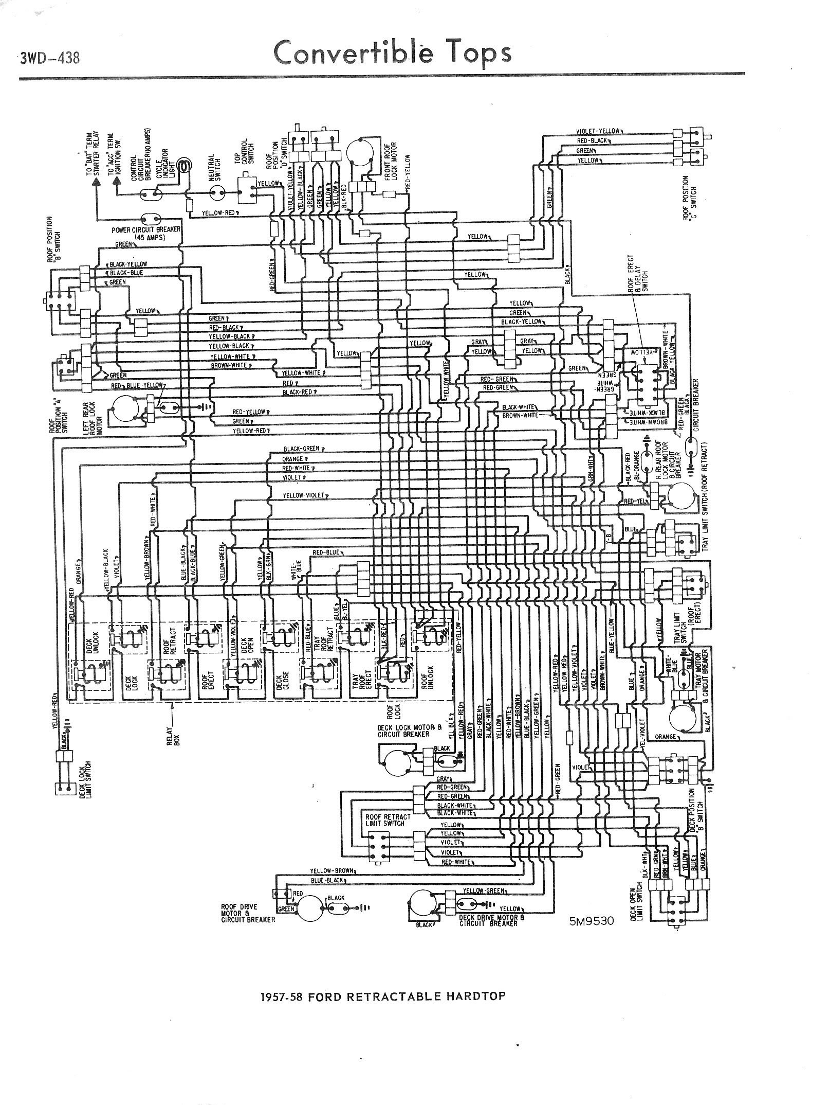 1965 Rotax 247 Wiring Diagram 1957 1965 Accessory Wiring Diagrams 3wd 438 Of 1965 Rotax 247 Wiring Diagram