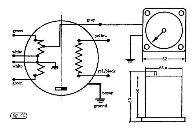 1965 Rotax 247 Wiring Diagram Aviasport Rotax 503 582 Ducati Ignition Tachometer 2 1 4 In Of 1965 Rotax 247 Wiring Diagram