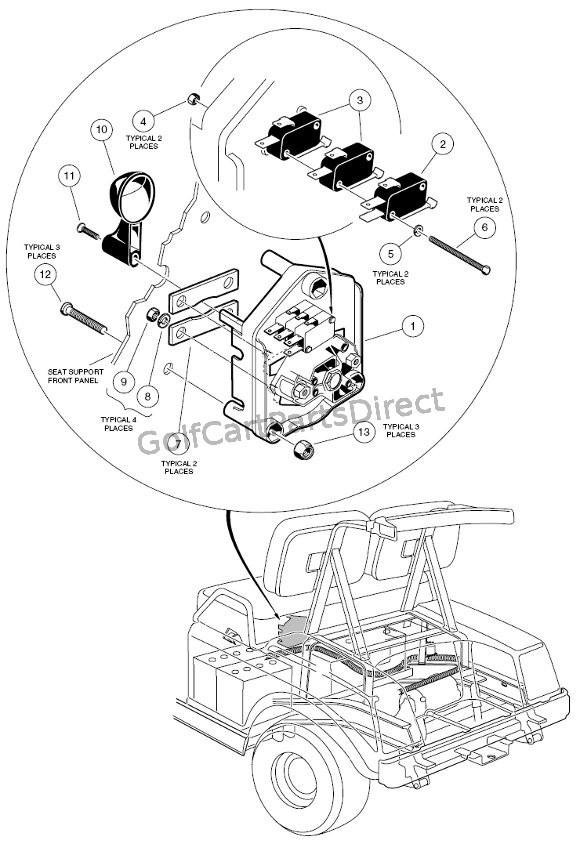 1988 Club Car Direction Control Switch Wiring Scmatic Club Car 36v forward Reverse Switch Wiring Diagram Of 1988 Club Car Direction Control Switch Wiring Scmatic