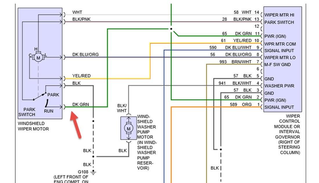 1990 F 150 Engine Wiring 1990 ford F 150 Wiper Motor Wiring Wiring Diagram Schema Of 1990 F 150 Engine Wiring