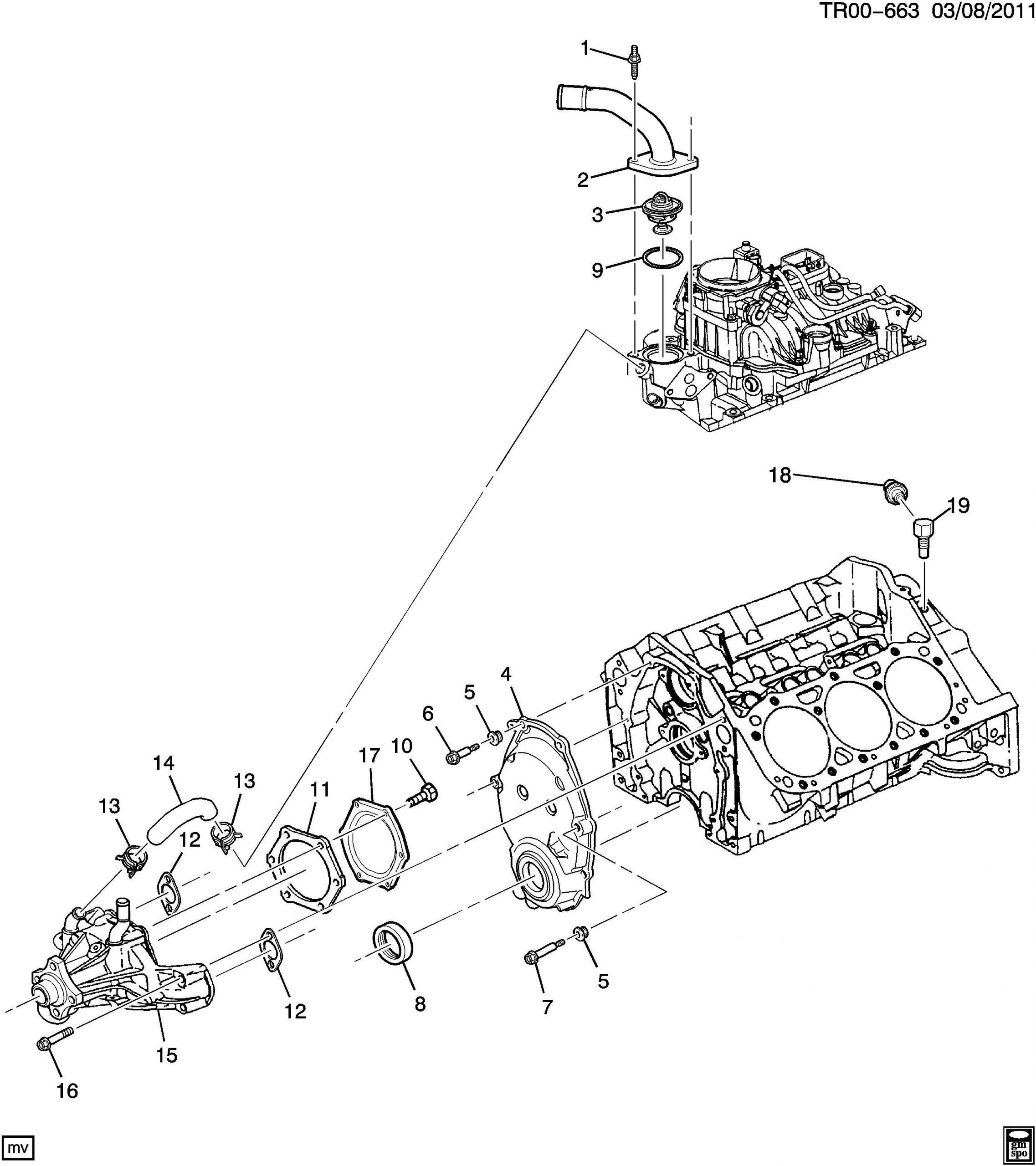 2000 Chevy 4.3 Engine Diagram 2000 Chevrolet S10 Bolt Engine Front Cover Bolt Eng Frt Cvr 1 4 20x 025 Hwh Of 2000 Chevy 4.3 Engine Diagram