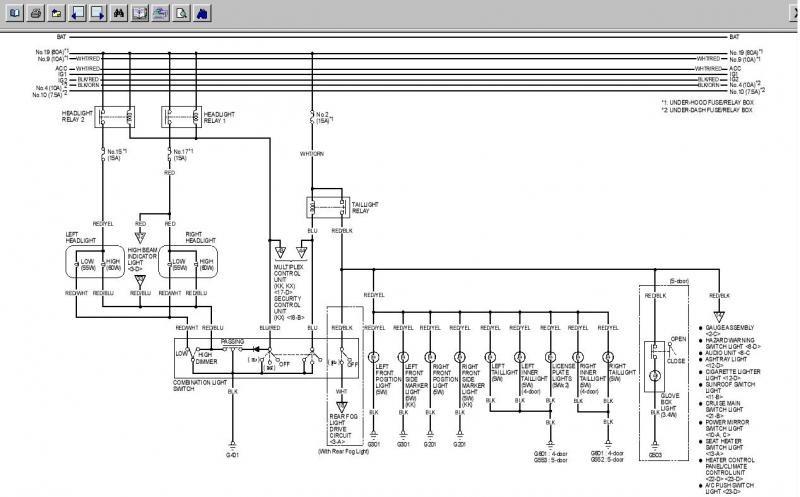 2002 Honda Wiring Scmatic for Scanner 2002 Honda Accord Headlight Wiring Diagram Read Online Of 2002 Honda Wiring Scmatic for Scanner
