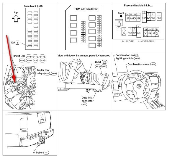 2005 Nissan Frontier Le 4.0 Wiring Diagram I Installed A Trailer Hitch & Wiring Harness On My 2005 Nissan Frontier Cab Le 4 0 Auto the Of 2005 Nissan Frontier Le 4.0 Wiring Diagram