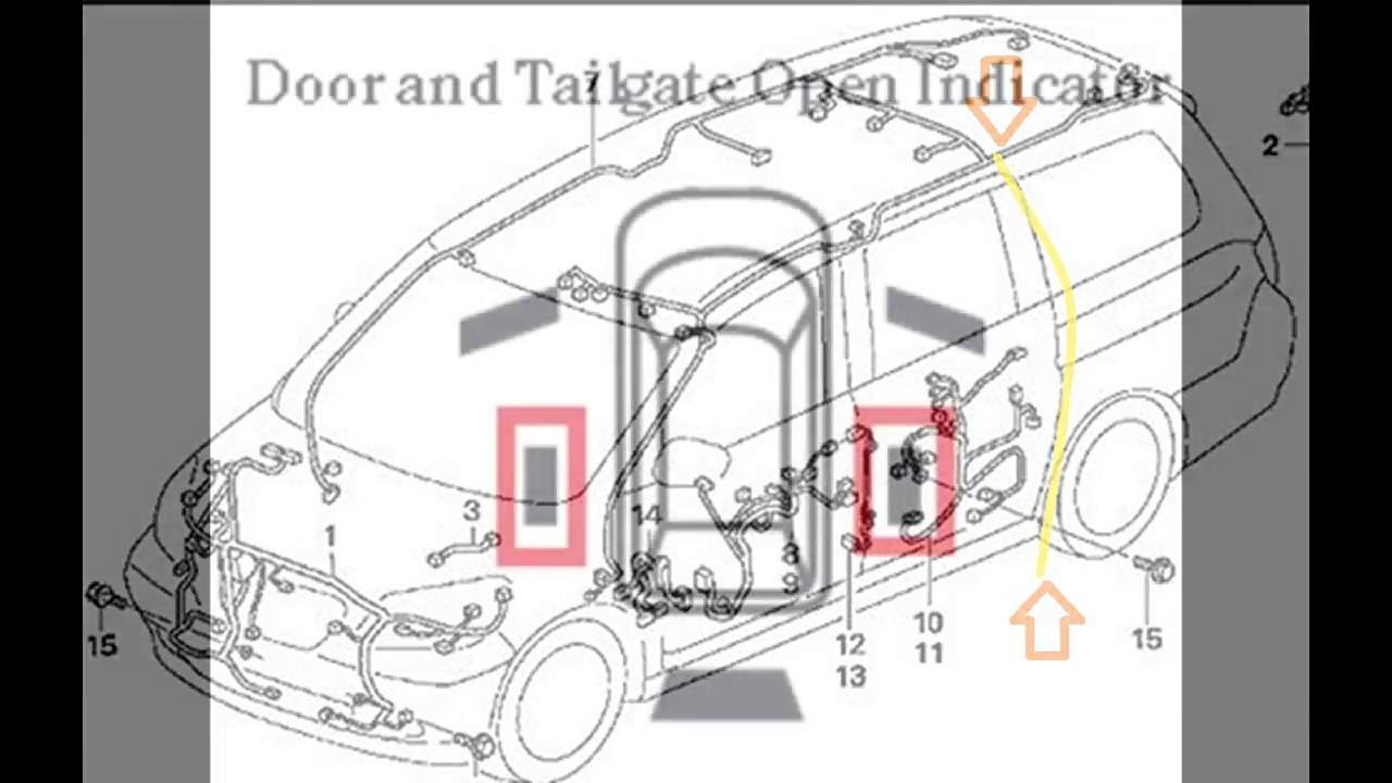 2007 Odyssey Power Door Wiring Diagram 2007 2010 Honda Odyssey Slide Door Latch and Reset Info Of 2007 Odyssey Power Door Wiring Diagram
