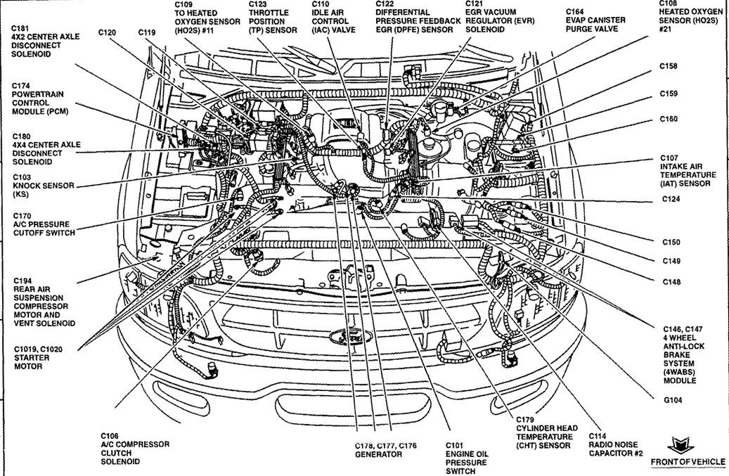 2009 ford F150 5.4 Engine Wire Harness Diagram 09 ford F150 5 4l Triton 3v Need Wiring Diagram Injectors Of 2009 ford F150 5.4 Engine Wire Harness Diagram