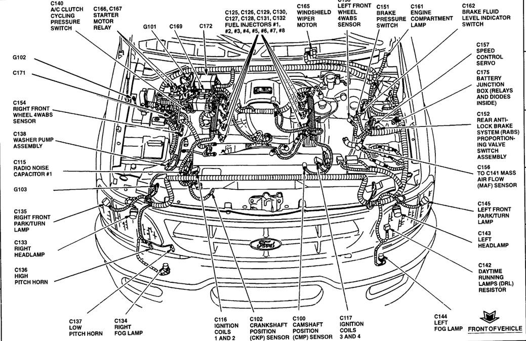 2009 ford F150 5.4 Engine Wire Harness Diagram 1999 ford F150 I Need A Drawing Of the Engine Wiring Harness Of 2009 ford F150 5.4 Engine Wire Harness Diagram