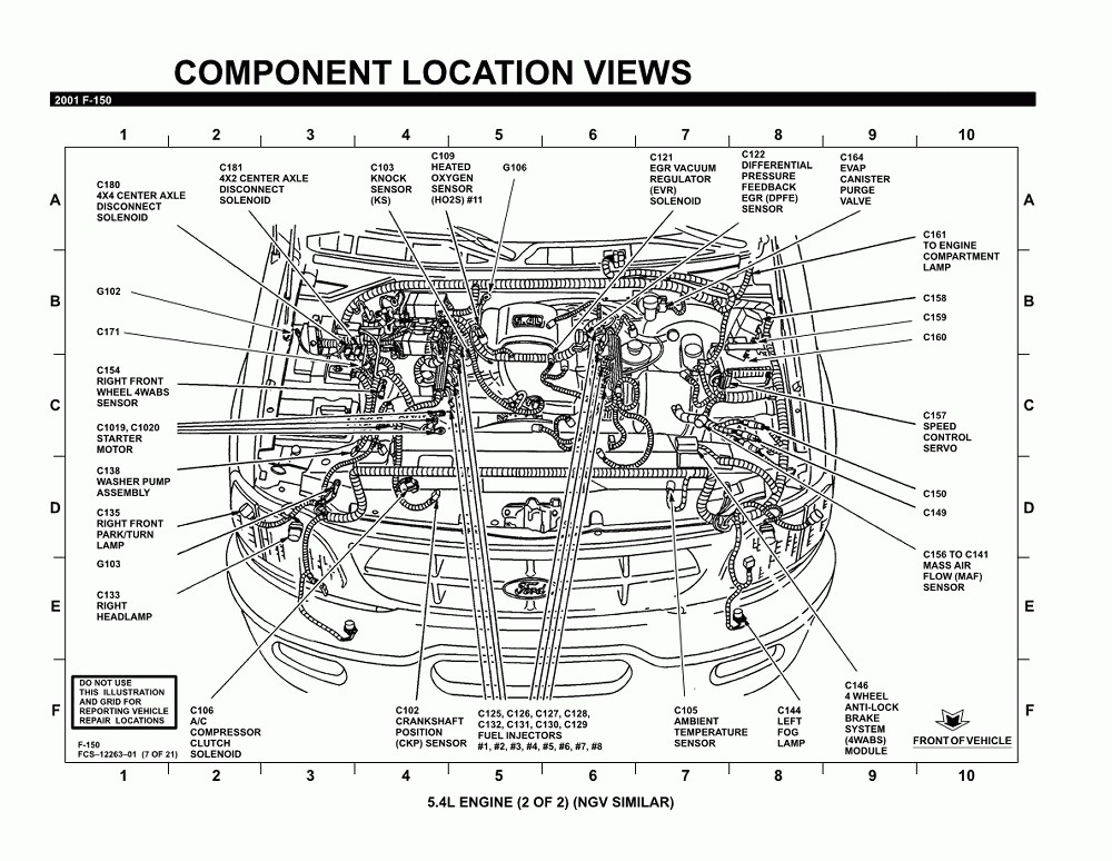 2009 ford F150 5.4 Engine Wire Harness Diagram ford F150 5 4 Engine Diagram Of 2009 ford F150 5.4 Engine Wire Harness Diagram