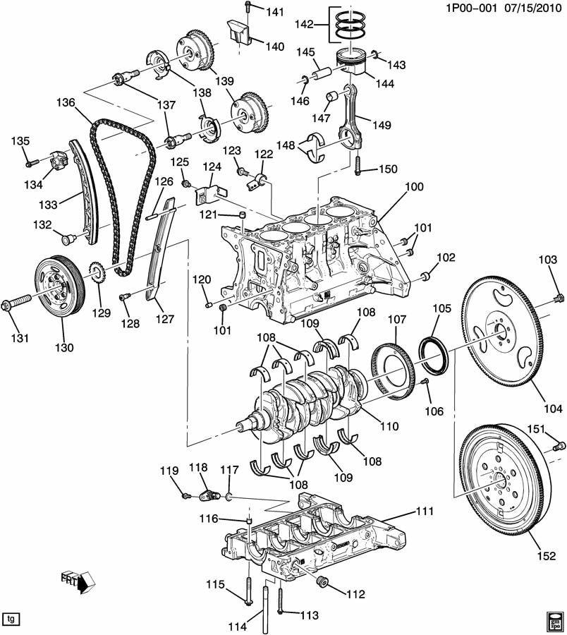 2012 Chevy Cruze 1.4 Motor Diagram Chevrolet Cruze Bolt Engine Camshaft Bolt Cm Shf Spkt W Actr Vlv 12×1 5×76 Of 2012 Chevy Cruze 1.4 Motor Diagram