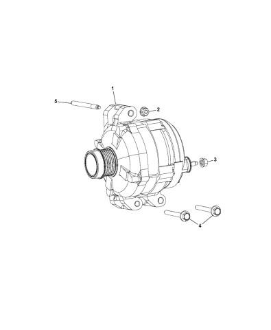 2016 Dodge Ram 1500 Generator Schematic Ah Genuine Mopar Generator Engine Of 2016 Dodge Ram 1500 Generator Schematic