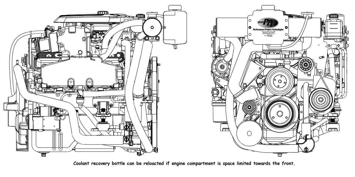 4.3 Mercruiser Cooling System Diagram Mercruiser Fresh Water Cooling System for Dry Joint Exhaust 4 3l Engines Of 4.3 Mercruiser Cooling System Diagram
