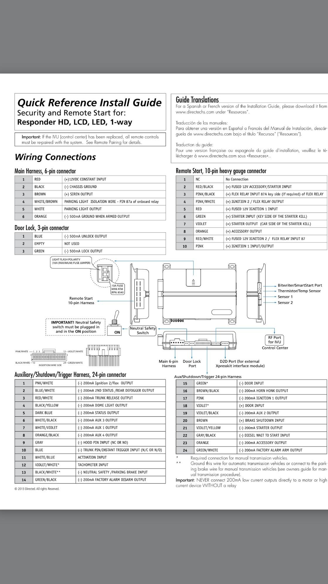5706v Install Instructions Viper 5706v Installation Guide Diagram Of 5706v Install Instructions