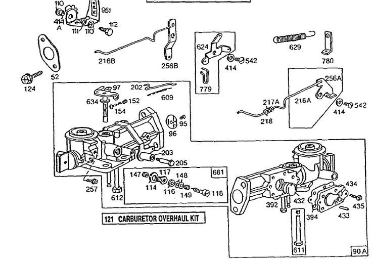 6.5 Briggs Stratton Carburetor Diagram Briggs and Stratton Carburetor Diagram D 5hp Briggs Stratton Carb 788 Of 6.5 Briggs Stratton Carburetor Diagram