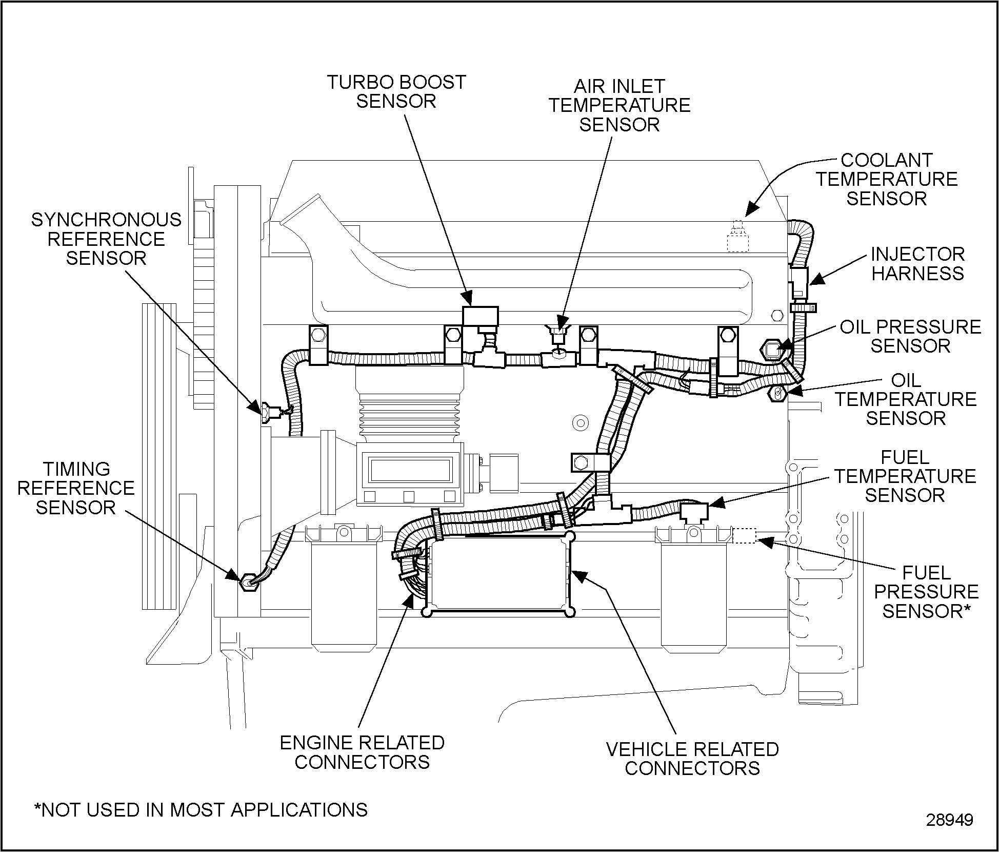Air Line Diagram 2000 Freightliner Truck I Have 2000 Freightliner Fld120 with A Detroit 60 Engine with the Following Problems 1 Engine Of Air Line Diagram 2000 Freightliner Truck